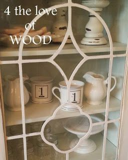 4 the love of wood: HOW TO PAINT FRET WORK - white display cabinet