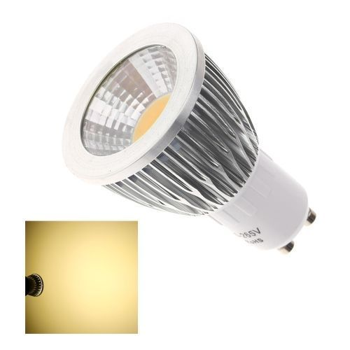 GU10 7W COB LED Spot Light Lamp Bulb High Power Energy Saving 85-265V