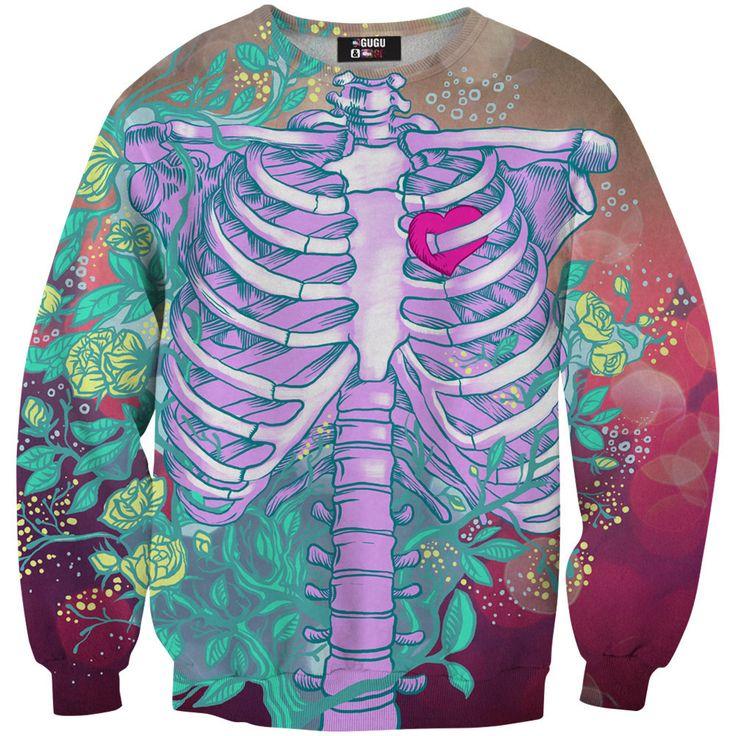 von Mr. Gugu & Miss Go · Heart in chest sweater. Rundhals  SweatshirtPulloverPullover ...