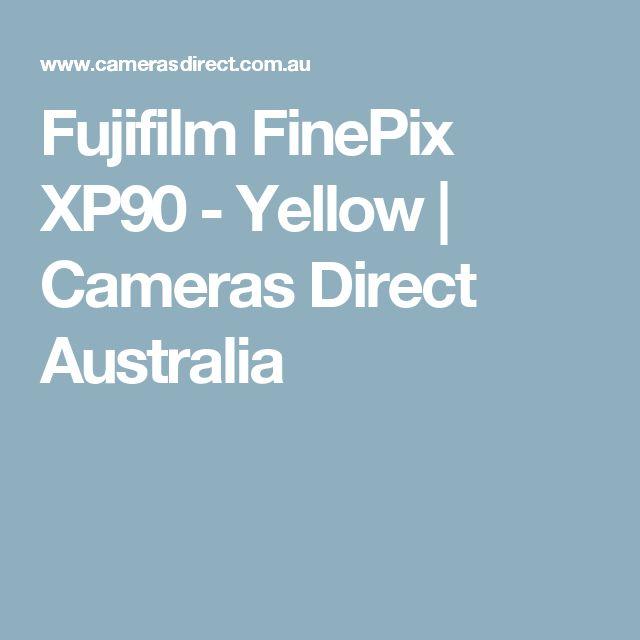 Fujifilm FinePix XP90 - Yellow | Cameras Direct Australia