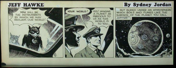 Sydney Jordan - Jeff Hawke 1378 Comic Art