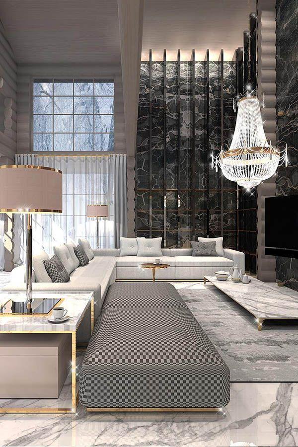 Constantine Frolov Interior Designer Decoration Salon Moderne