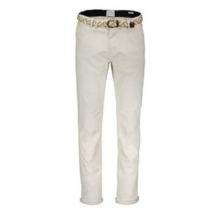 Scotch & Soda classic twill chino, White, medium