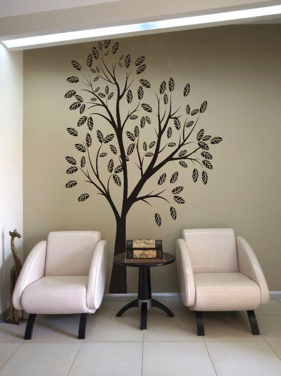 Vinyl wall decal wall sticker wall decor home decoration tree xxl