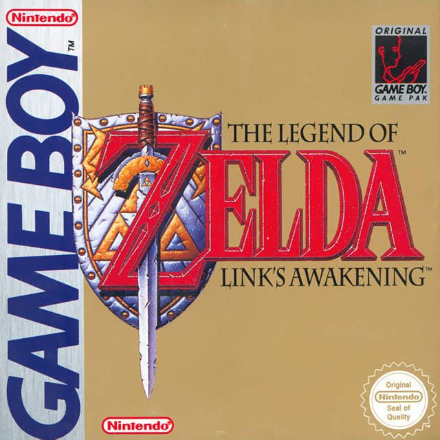 10 best favourite video games images on pinterest videogames june 1993 the legend of zelda links awakening first released in japan for the game boy fandeluxe Gallery