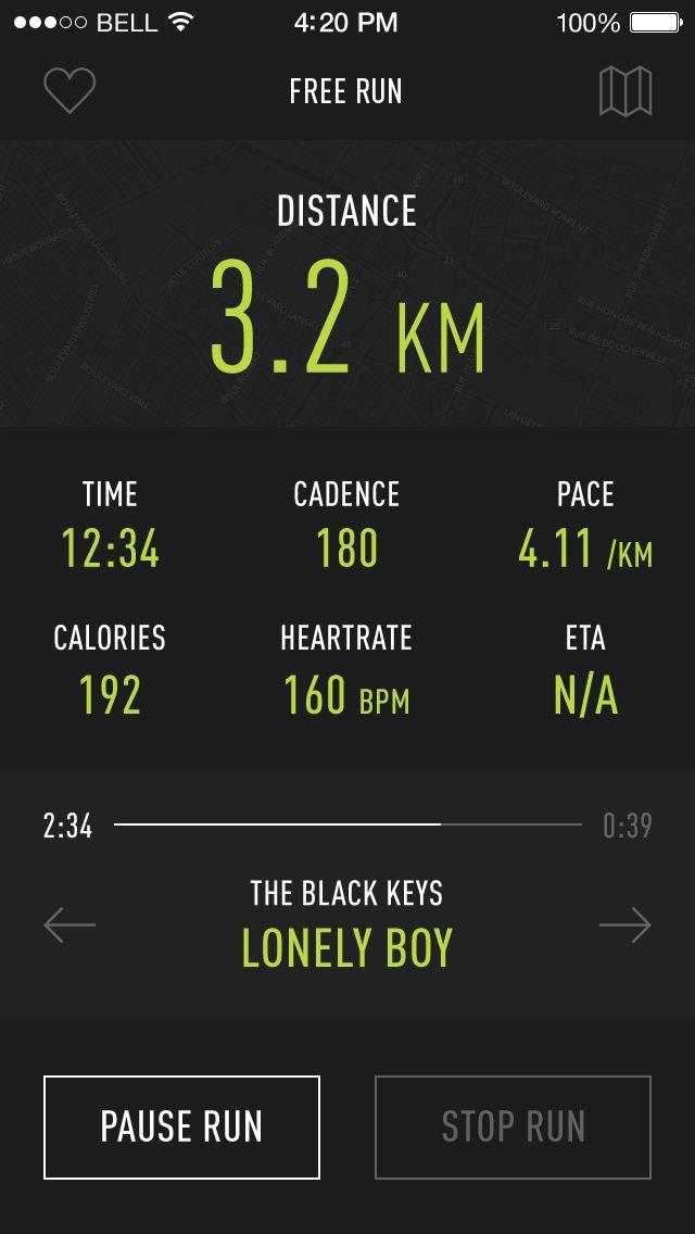 iOS7 Running App http://softwarelint.com/