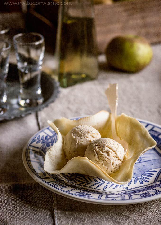 Helado de manzana | Recetas con fotos El invitado de invierno