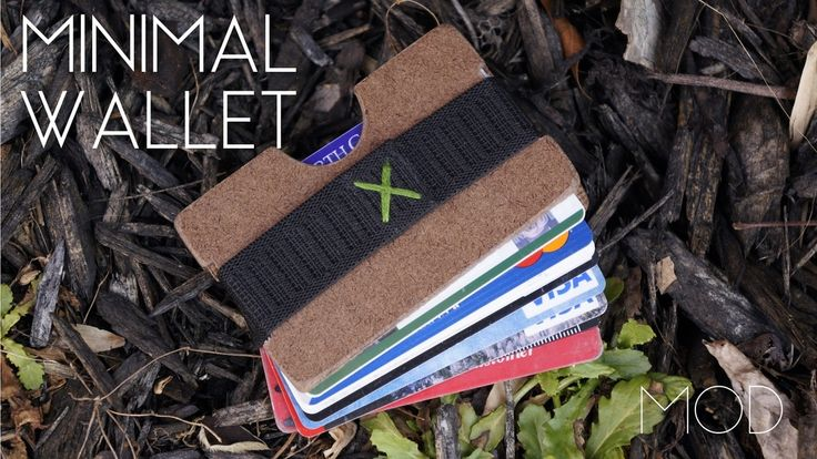 Even before I made the Tyvek wallet, I wanted to make a really nice card holder, something like the Elephant Wallet or Obstructures Wallet. This week, I did just that – and it's surprisingly far more simple than I had imagined.