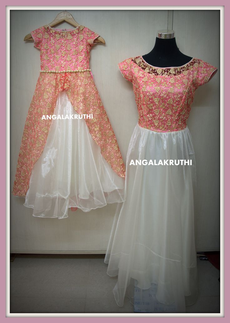 Mom and Me designs in Bangalore by Angalakruthi-Ladies  boutique