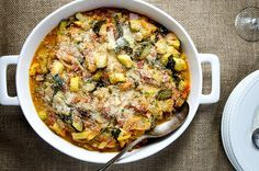 A+perfectly+rustic,+French-style+ratatouille+dish+to+compliment+any+dinner.+Easy+to+make+too!