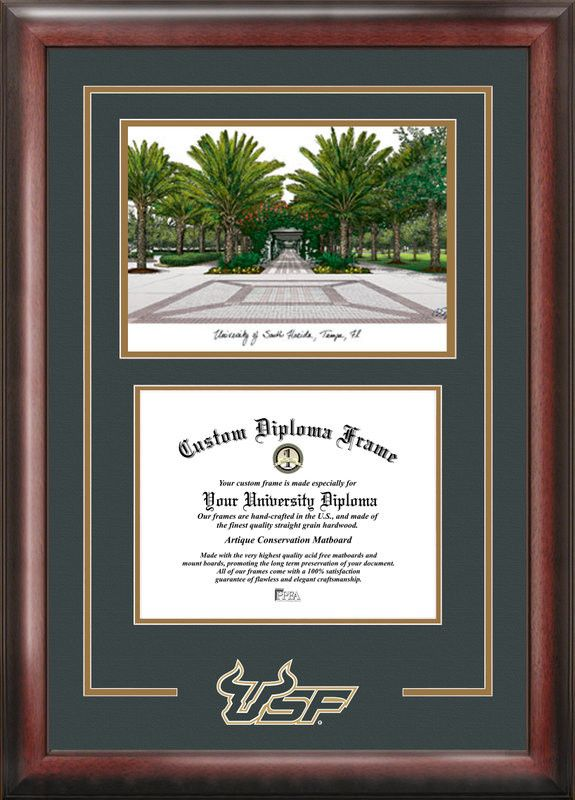 University Of South Florida Spirit Graduate Frame With