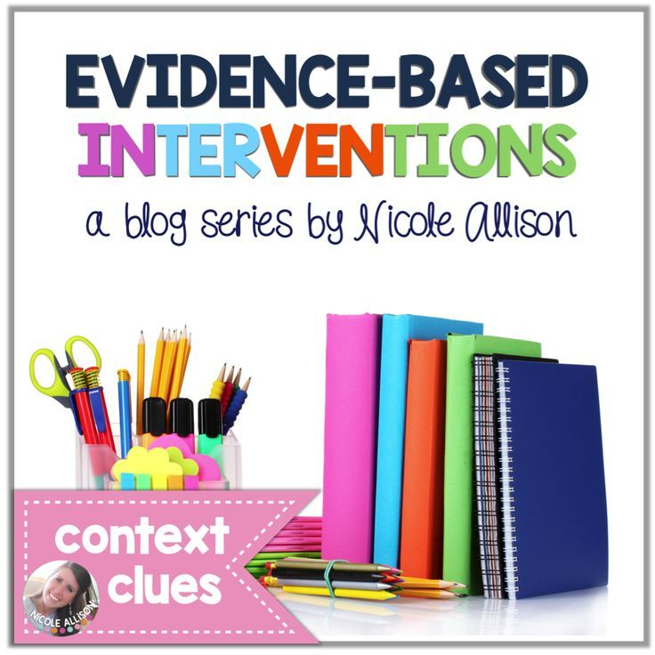 A step-by-step on how to introduce context clues as an EBI.