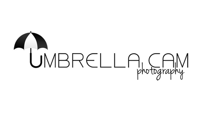 Logo Design for Umbrella Cam Photography by The Posh Perspective Design Studio