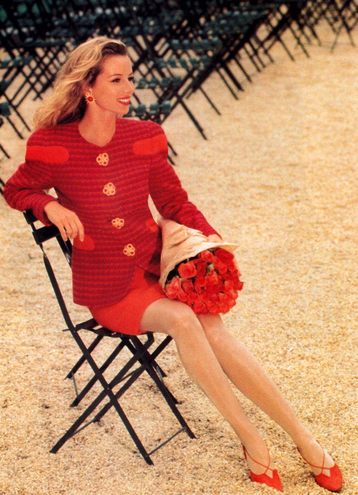 Carolina Herrera, Harper's Bazaar, September 1992.