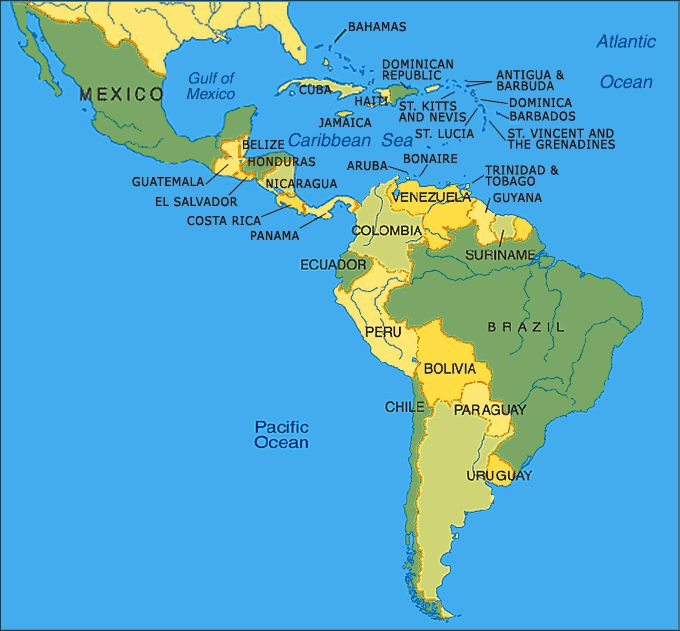 25 best ideas about Latin america map on Pinterest South america map Cent