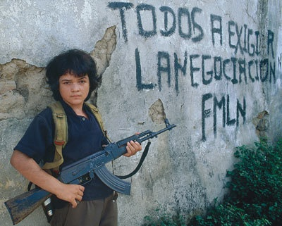 Child Solider, Salvadoran Civil War 1980-1992