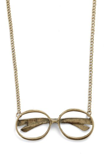Frame of Reference Desk Necklace, they remind me of my good friend Harry.