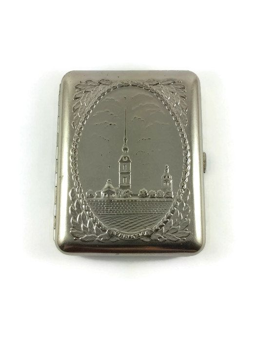 #Vintage #USSR #Russian #1970s #Metallic #cigarette #case with #volume #figures. #City on #Neva #River #Leningrad. St.#Petersburg. #Excellent ! #Great #gift by #JustSweetHoney #vintagecase #sovietcase #vintagebox #pocketcase #giftforhim #Etsy #sale #gift #Sovietcigarettecase #SovietUnion #USSR #souvenir #metalcigarettecase #tobaccocase #smokeraccessories #Sovietsmoking #businesscardscase #AccessoryCases #oldcigarettecase