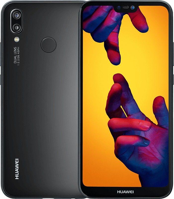 Huawei P20 Lite 4g 64gb Dual Sim Midnight Black Eu 287 98 Huawei