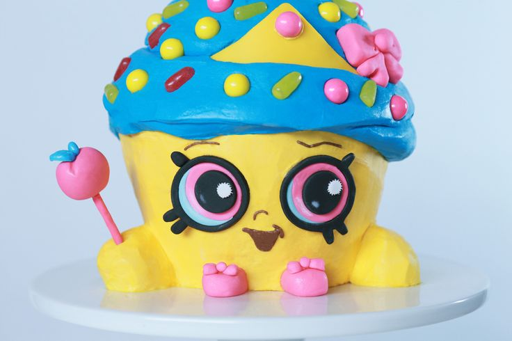 Shopkins Cupcake Queen Cake Recipe