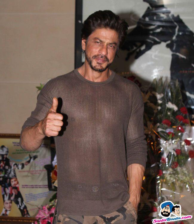 Shahrukh Khan celebrates birthday with media