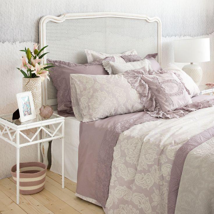 linge de lit imprim cachemire linge de lit lit zara. Black Bedroom Furniture Sets. Home Design Ideas