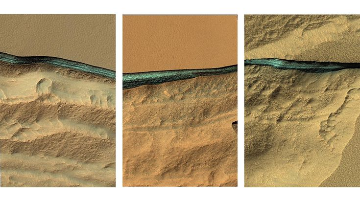 Huge Water Reserves Found All Over Mars  ||  New NASA images show layers of ice peeking out of eroded cliffs—a potential boon for future humans on the red planet. https://news.nationalgeographic.com/2018/01/mars-buried-water-ice-subsurface-geology-astronauts-science/?utm_campaign=crowdfire&utm_content=crowdfire&utm_medium=social&utm_source=pinterest