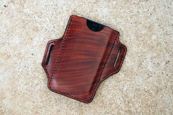 Handmade Leather iPhone Holster Case iPhone 6/6S PLUS, Brown