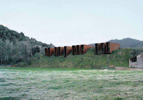 Casa rural designed by rcr arquitectes girona spain via for Casa rural mansion terraplen seis
