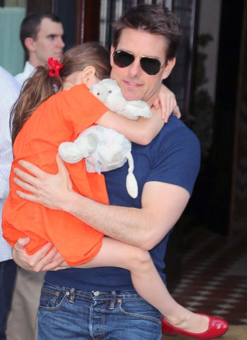 Tom Cruise Celebrates Suri's 7th Birthday
