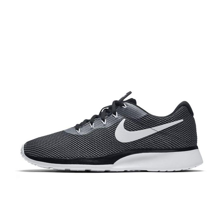 Nike Tanjun Racer Men's Shoe Size 12.5 (Grey)