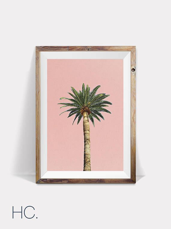 Palmier, impression de Palm, Palm Tree impression, impression tropicale, Tropical Art, Tropical impression d'Art mural, imprimable Palm, Palm Print Art, décor de Palm, Palm Art