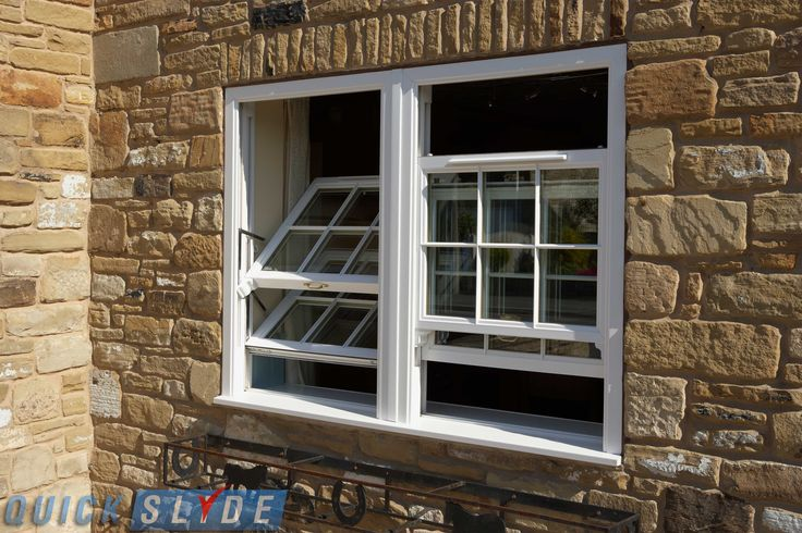 No more hassle #cleaning the outside of your #sliding #sash #windows. #Traditional appearance, #modern performance by #Quickslide!
