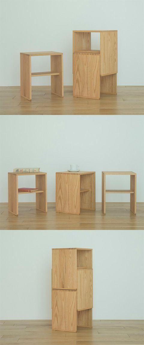 【THE STACKIGSTOOL Oak(中川政七商店)】/急な来客時の予備の椅子として、高いところの物を取る踏み台として、観葉植物を置く台として、ベッドやソファのサイドテーブルとして。コンパクトな木製スツールは、あらゆる場面で活躍します。家にいくつかあれば、いざという時にとても便利。けれども、普段はスペースを取らずに収納しておきたいものです。だから、スタッキングできるスツールを作りました。単にスタッキング(=積むこと)ができるだけでなく、いかにコンパクトに重ねられるかを考え抜き、また、積んだときの安定感と美しさにもこだわりました。ご家庭だけでなく、学校や図書館などにも似合う、ミニマルなデザインです。