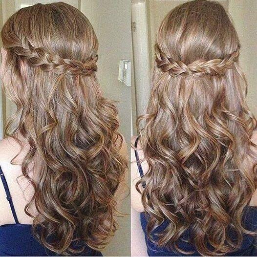 Hermoso peinado con ondas incluidas, perfecto para toda ocación formal e informal