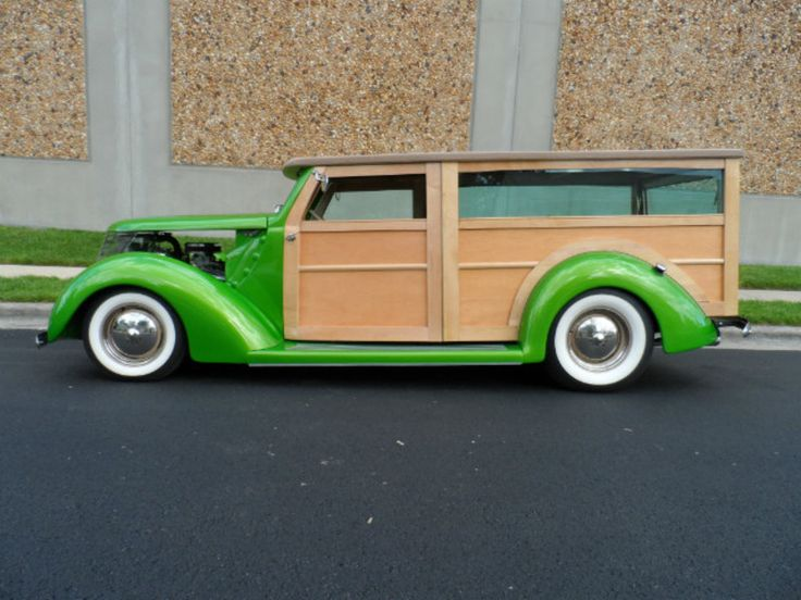 1937 Ford Custom Woody Wagon Street Rod For Sale in Linthicum, Maryland | Old Car Online