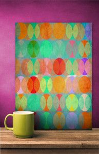 COLORS | Art prints on metal by Miri Mo @displate