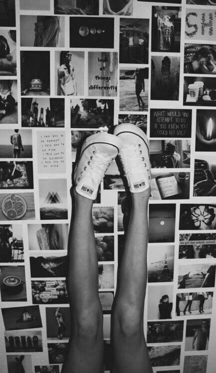 Converse and all decor <3