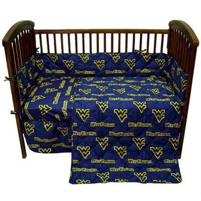 Wvu Crib Bedding Set