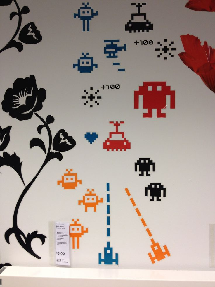 ikea wall stickers stationary knick knacks pinterest