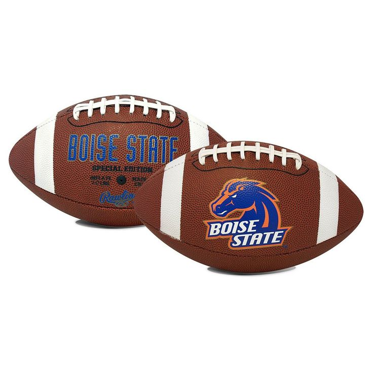 Rawlings Boise State Broncos Game Time Football, Blue
