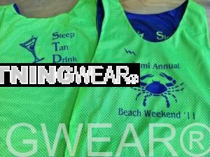 buy Semi Annual Beach Weekend Pinnies - Beach Weekend Reversible Jerseys - Southington Connecticut Pinnies