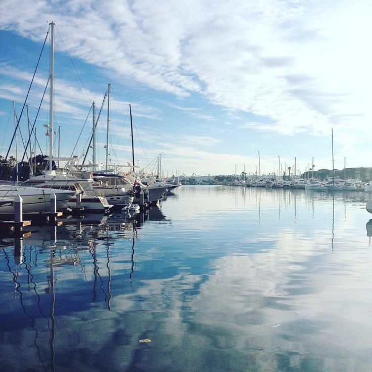 Marina Harbor in Marina del Rey, California