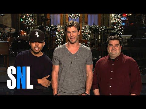 SNL: SNL Host Chris Hemsworth, Chance The Rapper and Bobby Are Best Friends