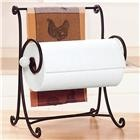 Horizontal Wire Scrollwork Paper Towel Holder from Lillian Vernon