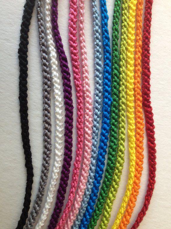 Mix Match Ogni Colore Sottile Amicizia Bracciali Etsy Diy
