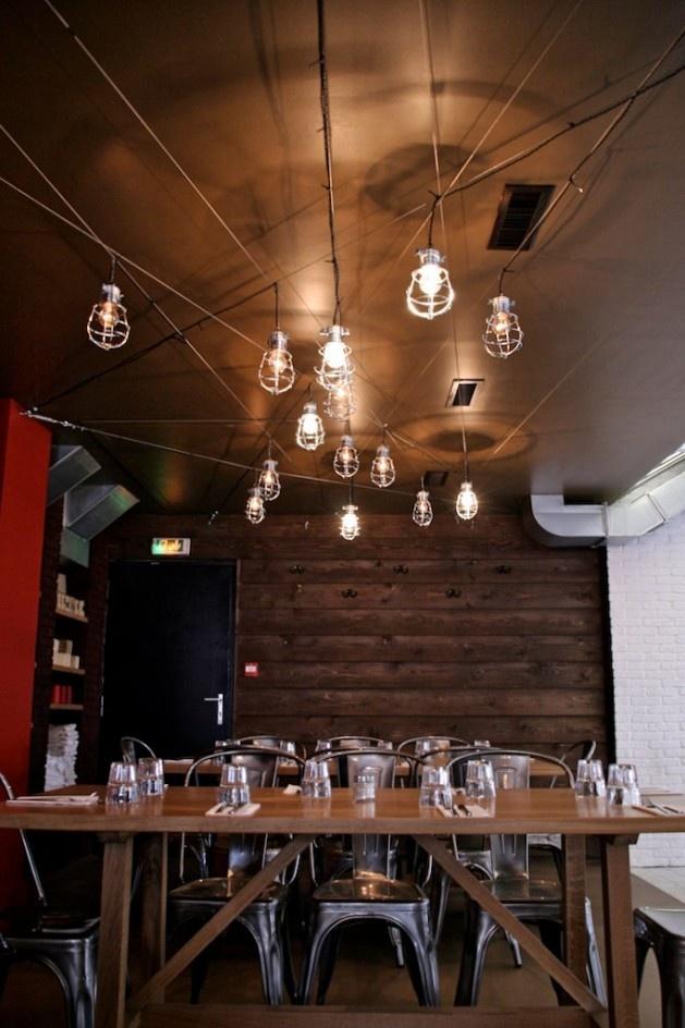 Unique Lighting Ideas Game Room Strasbourg Restaurants Nook Industrial Eat
