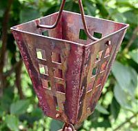 Arts & Crafts Square Cups Rain Chain - Large: Copper Rain, Crafts Squares, Art Crafts, Crafts Rain, Rain Chains, Art & Crafts, Squares Cups, Cups Rain, Cups Style