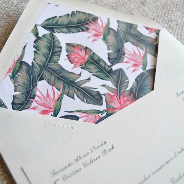37 tipos de invitaciones de boda. ¡Toma nota e invita con estilo! Image: 25