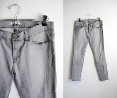 J Brand  The Skinny Jean in SilverlakeA Mini-Saia Jeans, Skinny Jeans